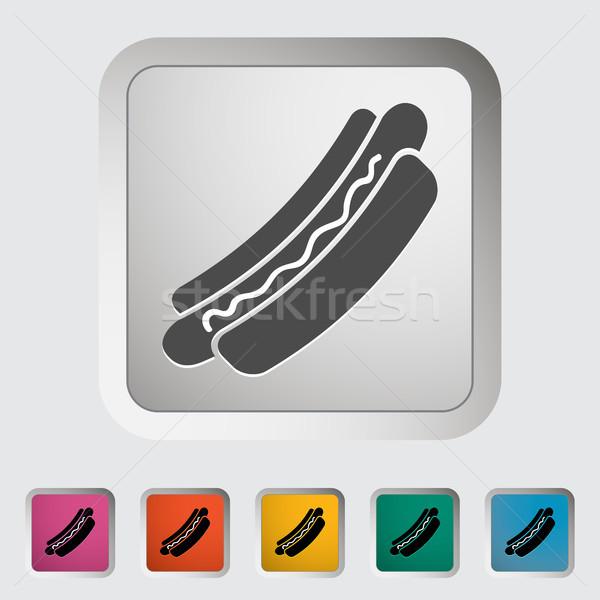 Hot dog Stock photo © smoki