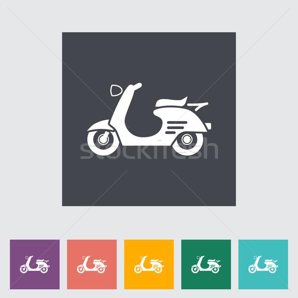 Iş ışık sanat yaz bisiklet Stok fotoğraf © smoki