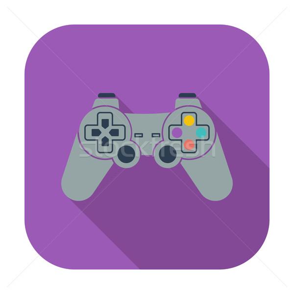 Oyun ikon renk dizayn klavye sanat Stok fotoğraf © smoki