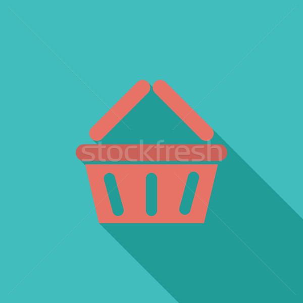 Basket for products Stock photo © smoki