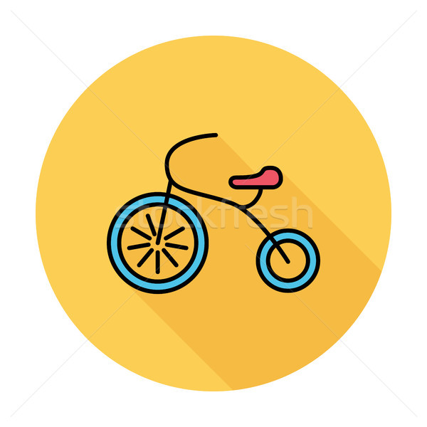 Stock photo: Tricycle