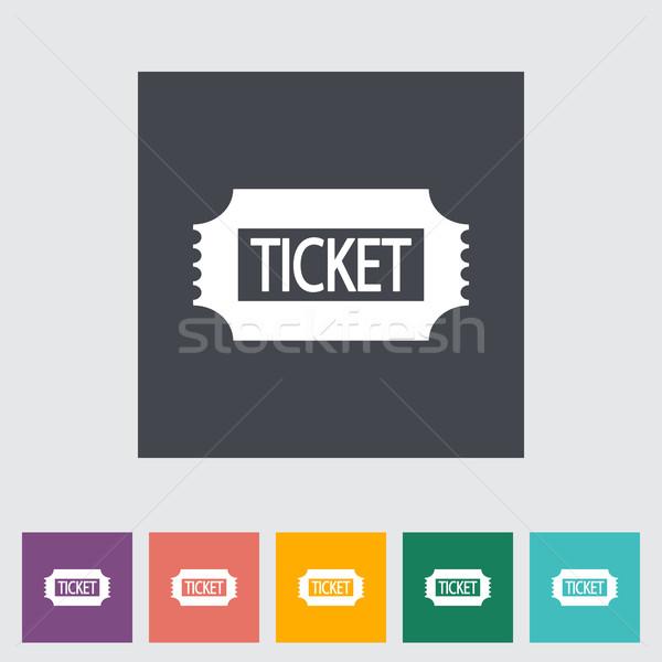 Ticket. Stock photo © smoki