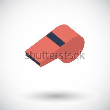 Icon sports whistle. Stock photo © smoki