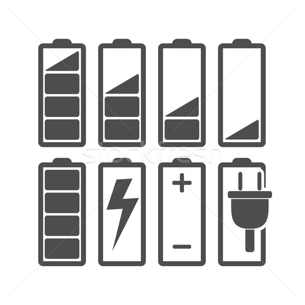 Stock photo: Battery