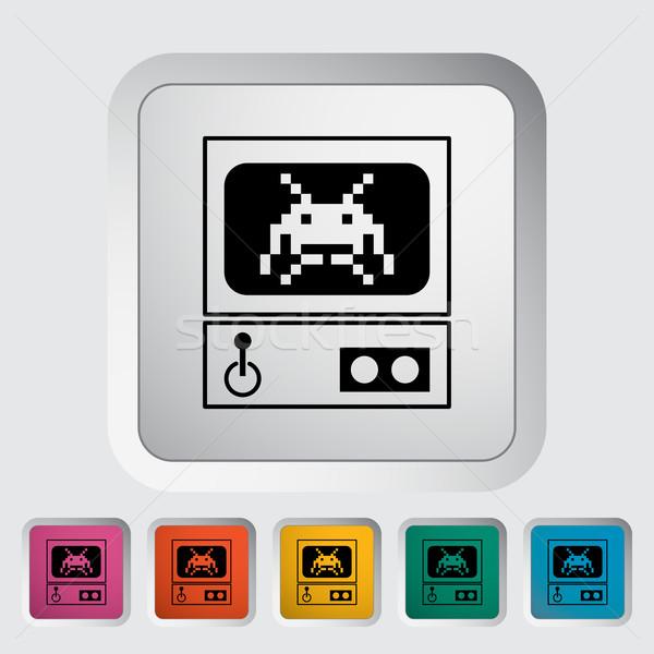 Retro Arcade Machine Stock photo © smoki