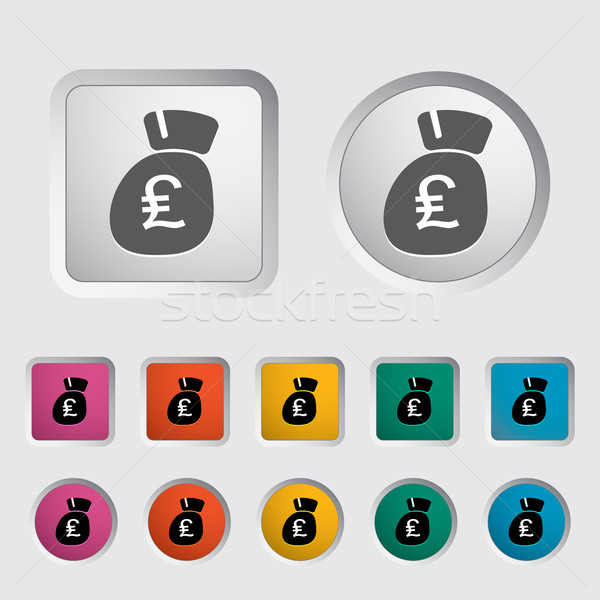 Pound sterling icon. Stock photo © smoki