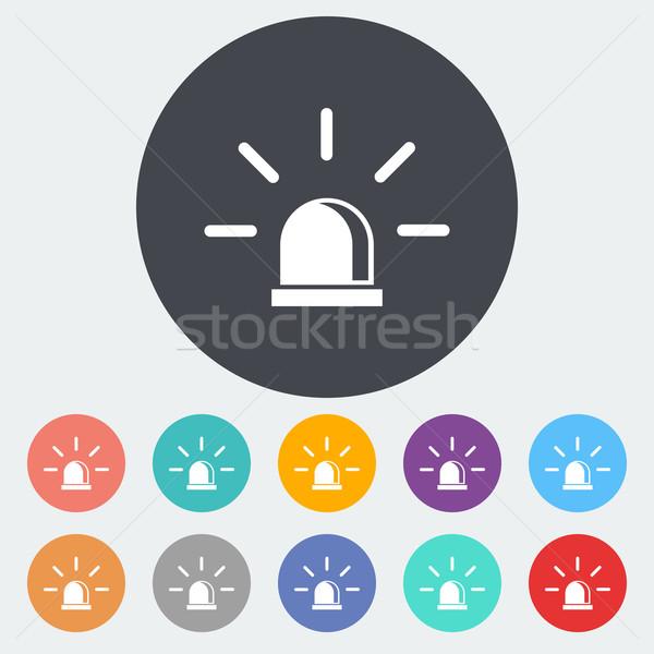 Police single icon. Stock photo © smoki