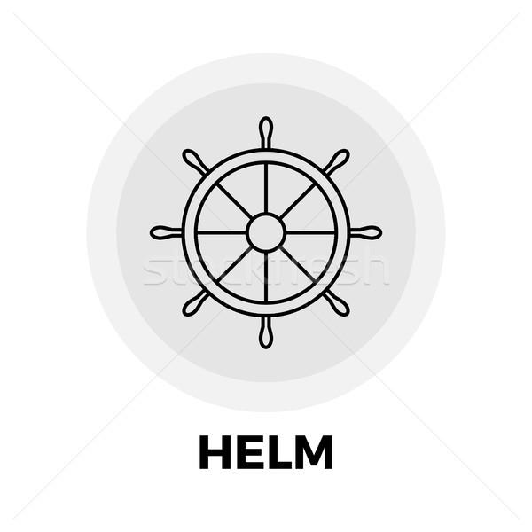 Helm Line Icon Stock photo © smoki