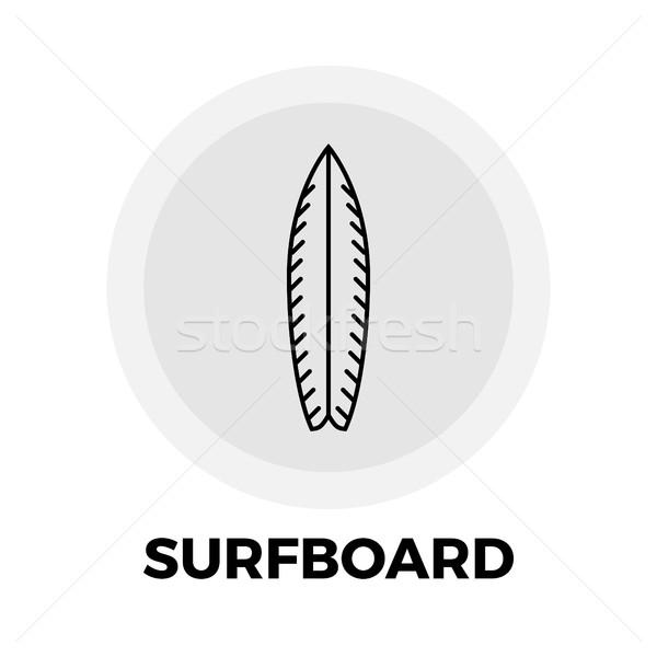 Surfboard Line Icon Stock photo © smoki