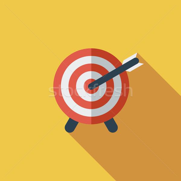Target with dart Stock photo © smoki
