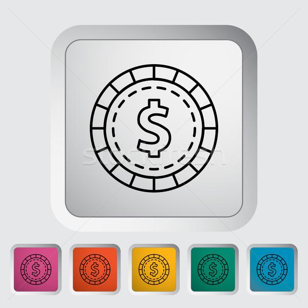 Gambling chips Stock photo © smoki