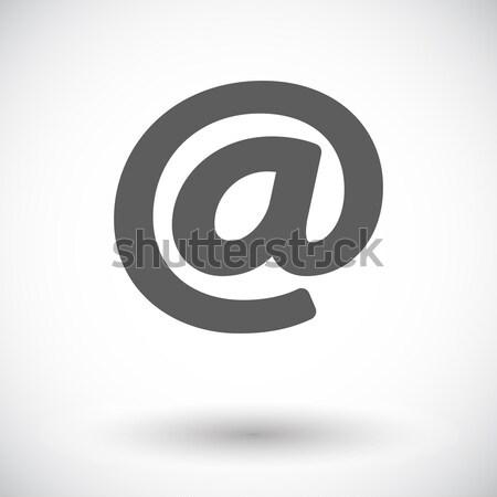 электронная почта икона белый компьютер дизайна искусства Сток-фото © smoki