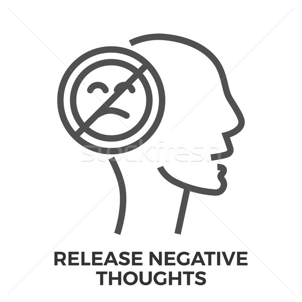 Release negative thoughts Stock photo © smoki