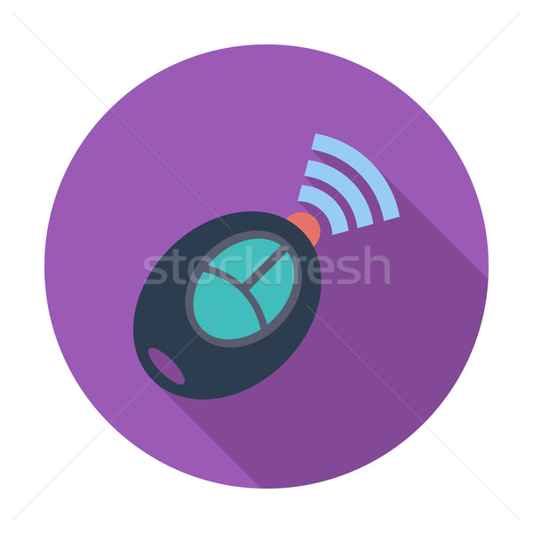 Remote control flat icon Stock photo © smoki