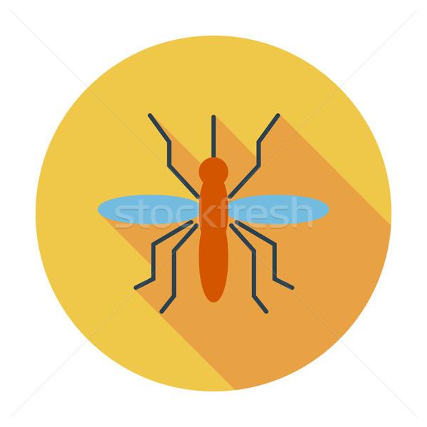 Zanzara vettore icona mobile web applicazioni Foto d'archivio © smoki