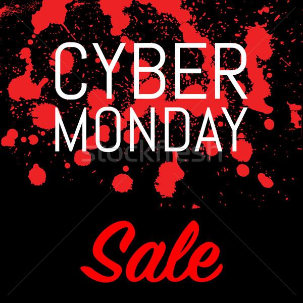 Cyber Monday Sale Stock photo © smoki