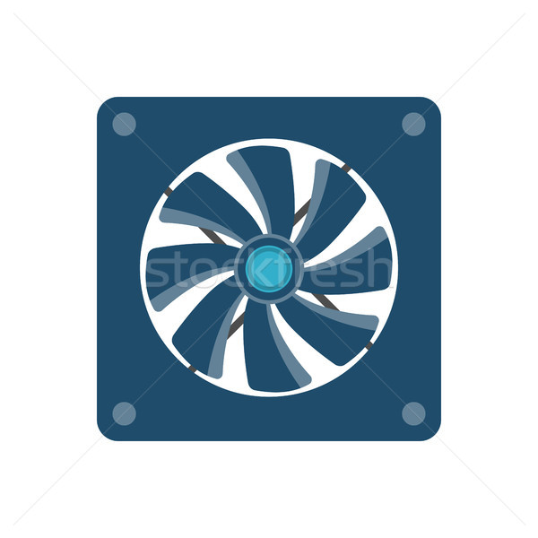 Cooler Vector Icon Stock photo © smoki