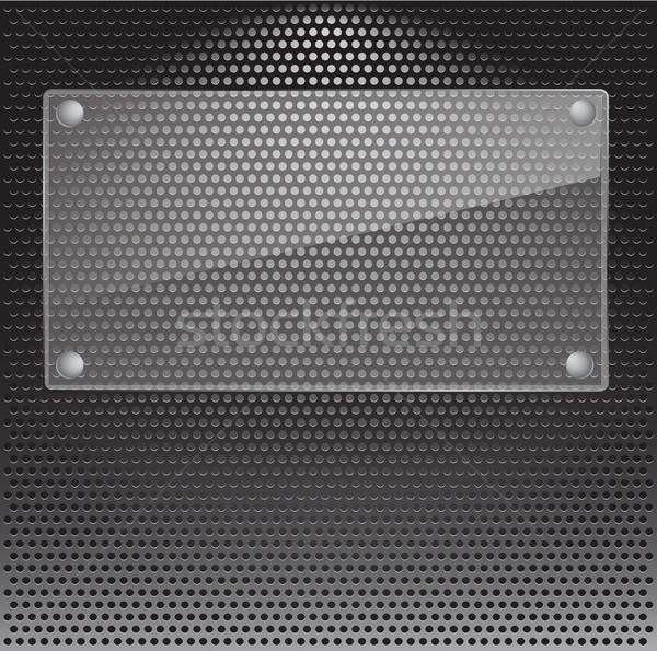 Metal grille Stock photo © smoki