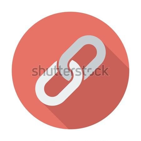Bağlantı ikon renk bilgisayar dizayn güvenlik Stok fotoğraf © smoki