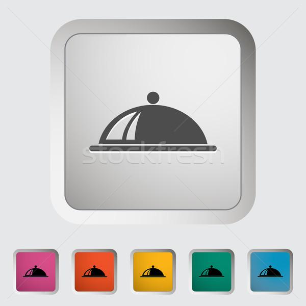Tray icon Stock photo © smoki