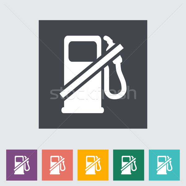 Fuel icon Stock photo © smoki