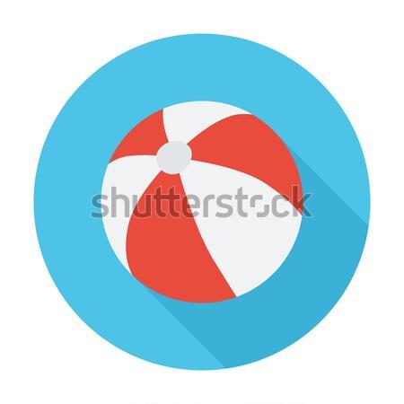 Strandbal kleur sport kunst bal speelgoed Stockfoto © smoki
