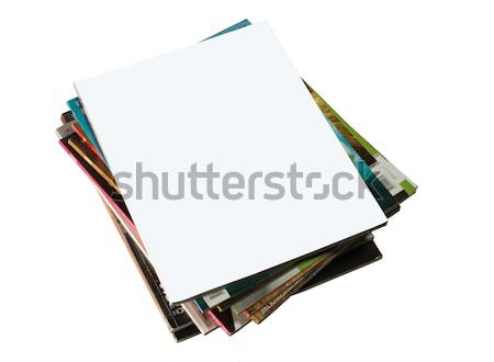 Magazines Stock photo © smoki