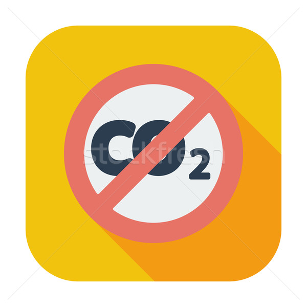 CO2 icon Stock photo © smoki