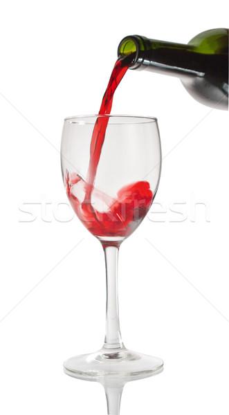 Red wine Stock photo © smoki