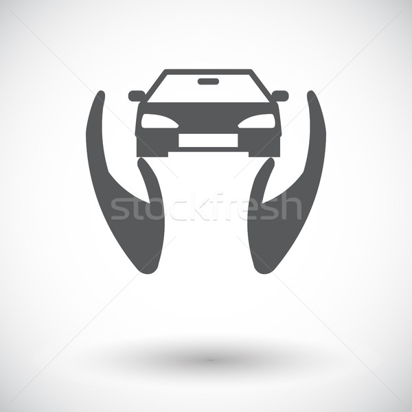 Concept car insurance. Stock photo © smoki