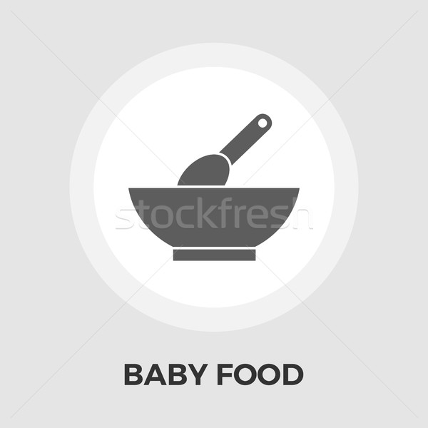 Baby Food Flat Icon Stock photo © smoki