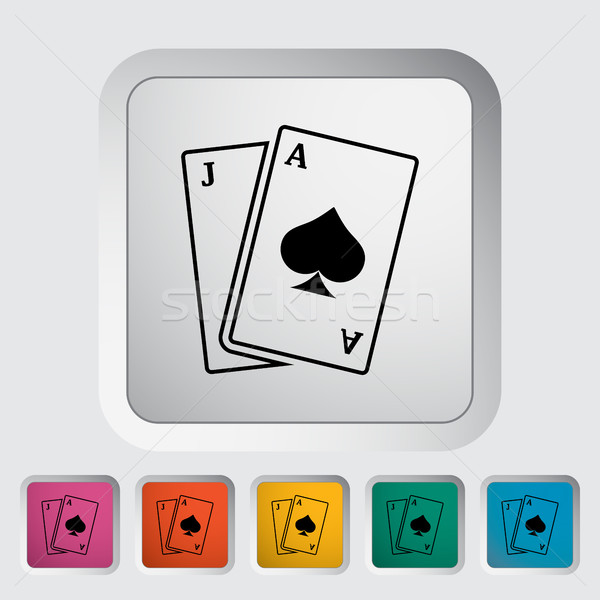 Blackjack Stock photo © smoki