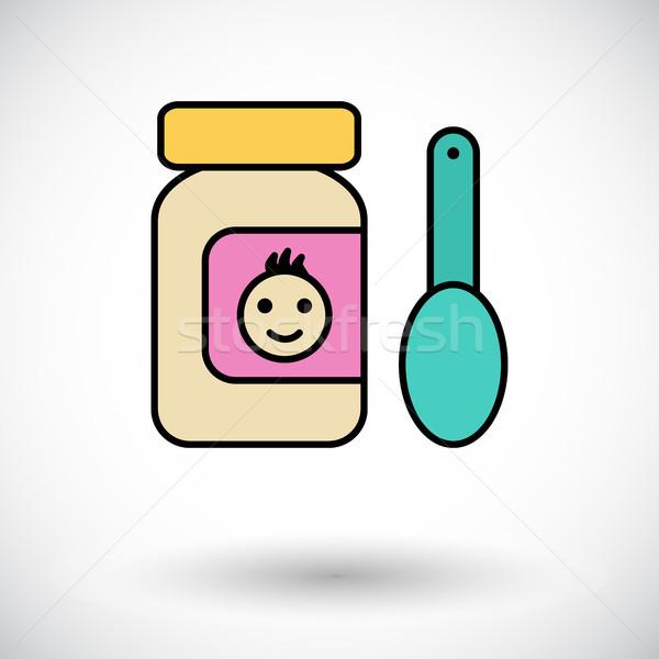 Baby food Stock photo © smoki
