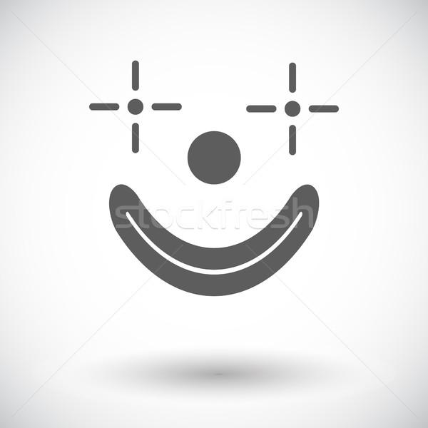 Clown icon Stock photo © smoki