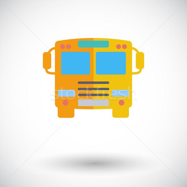 Bus icon. Stock photo © smoki