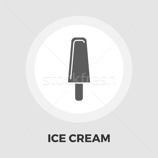 мороженым икона вектора изображение объект графических Сток-фото © smoki