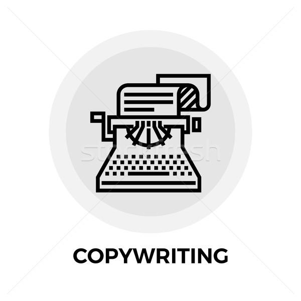 Copywriting Line Icon Stock photo © smoki