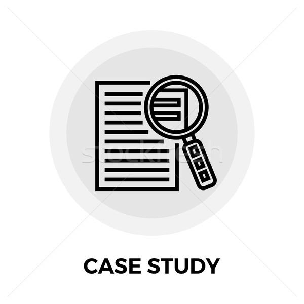 Case Study Icon Stock photo © smoki
