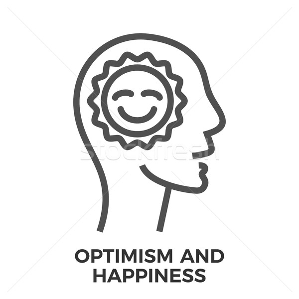 Optimism and happiness Stock photo © smoki