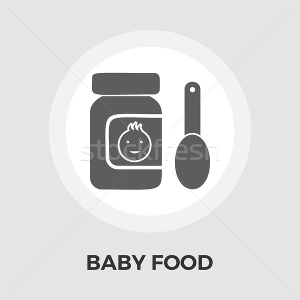 детское питание икона вектора изображение прибыль на акцию jpg Сток-фото © smoki