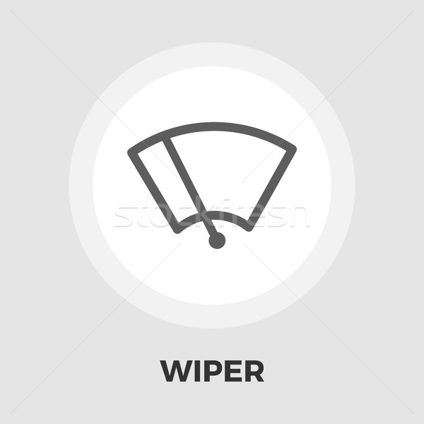 Rondella icona vettore isolato bianco Foto d'archivio © smoki