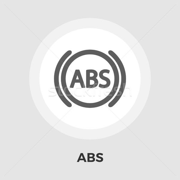 ABS flat icon. Stock photo © smoki