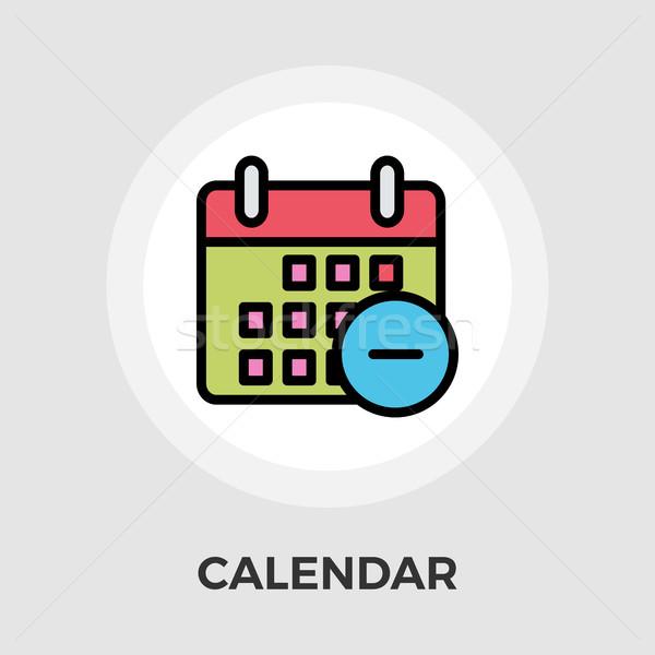 Calendar with minus Stock photo © smoki