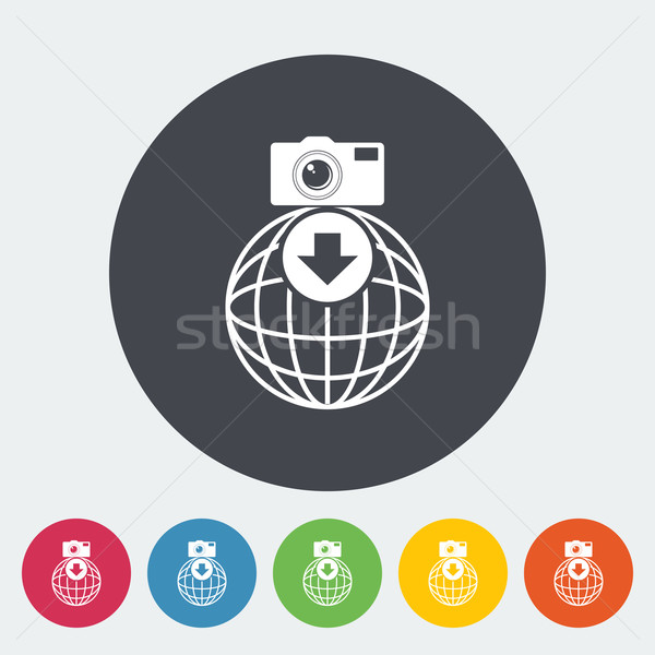 Foto download Symbol Kreis Internet Design Stock foto © smoki