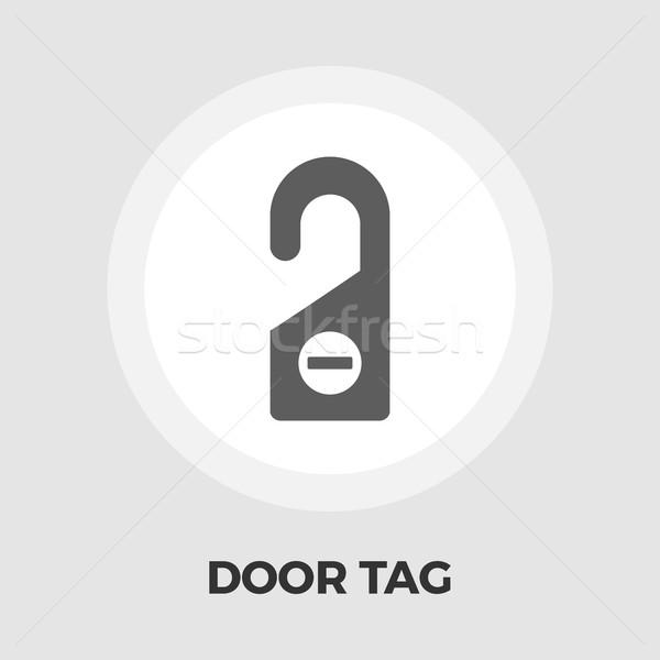 Door Tag Line Icon Stock photo © smoki