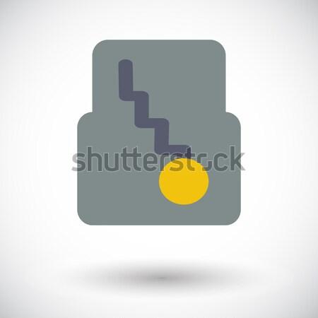 Icône automatique engins couleur vitesse Ouvrir la Photo stock © smoki