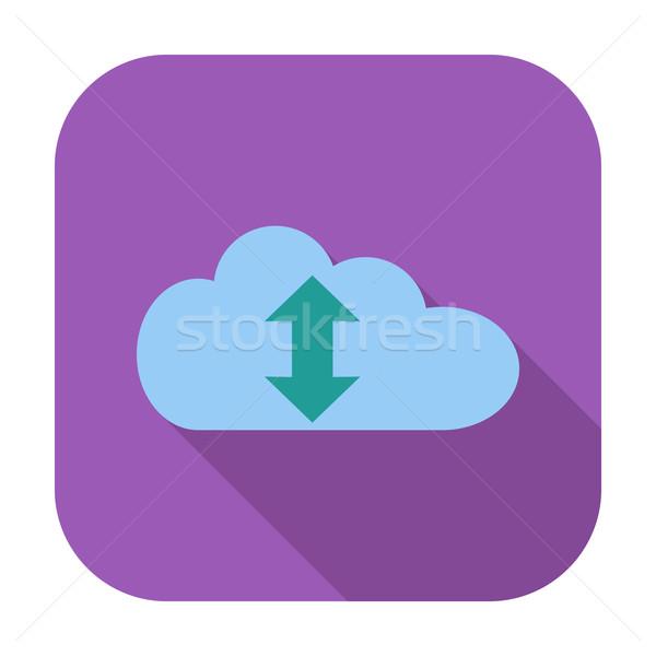 Cloud computing icon Stock photo © smoki