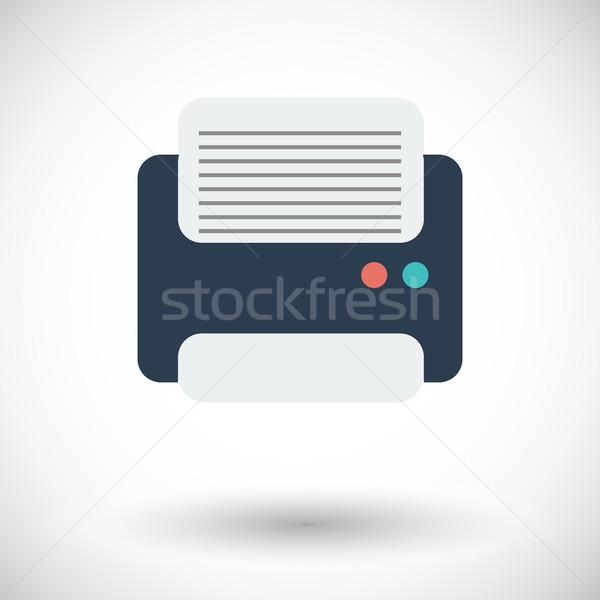 Printer icon. Stock photo © smoki
