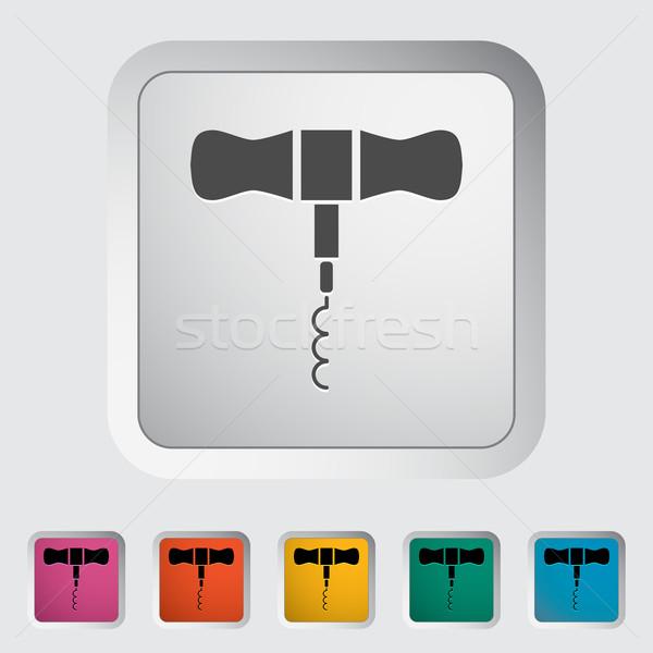 Corkscrew Stock photo © smoki