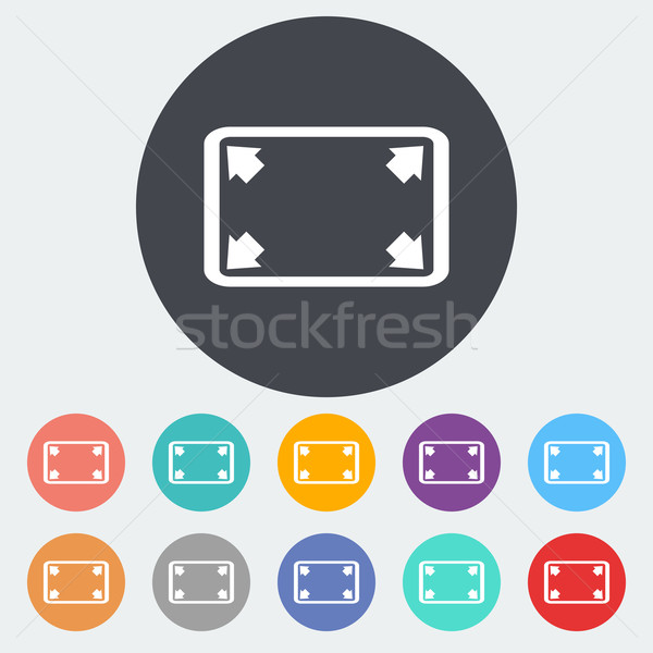 Deploying video icon. Stock photo © smoki